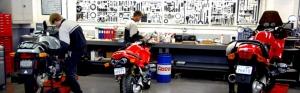 Budds BMW Motorrad service shop