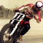 John Parker on the track