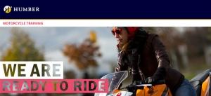 humber motorcycle training image